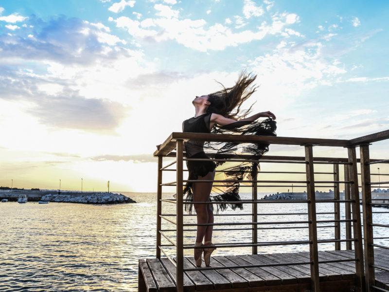 danzare al tramonto